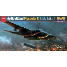 Hong Kong Models 1:32 de Havilland Mosquito B Mk IV Series II Aircraft Model Kit