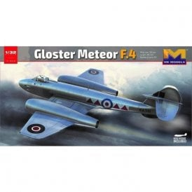 Hong Kong Models 1:32 Gloster Meteor F4 Aircraft Model Kit