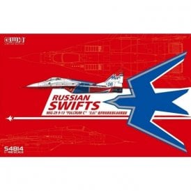 "Great Wall Hobby 1:48 MIG-29  9-13 ""Fulcrum C"" ""Russian Swifts"" & special Mask & Decal Aircraft Model Kit"