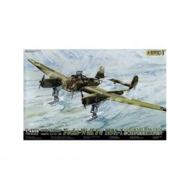Great Wall Hobby 1:48 Focke-Wulf Fw189A-1 Luftwaffe With Sonderaktion Schneekufen Aircraft Model Kit