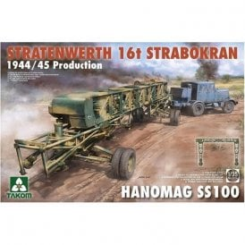 Takom 1:35 Stratenwerth 16t Strabokran 1944/45 + Hanomag Model Military Kit