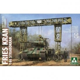 Takom 1:35 FRIES KRAN 16t Strabokran, 1943/44 prod. Model Military Kit