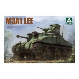 Takom 1:35 US Medium Tank M3A1 LEE Model Military Kit
