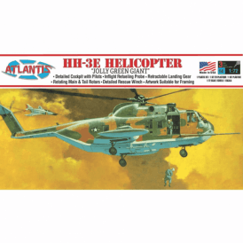 Atlantis Models 1:72 Sikorsky HH-3 Jolly Green Giant Helicopter Aircraft Model Kit
