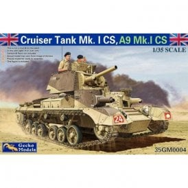 Gecko Models 1:35 Cruiser Tank Mk. I CS, A9 Mk.ICS Military Model Kit