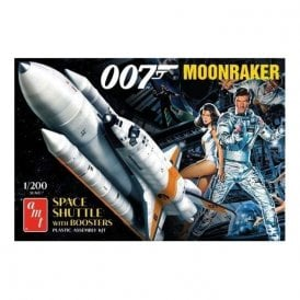 AMT 1:200 James Bond Moonraker Shuttle w/Boosters Model Kit