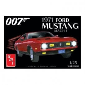 AMT 1:25 1971 Ford Mustang Mach I - James Bond Model Kit