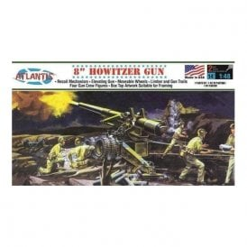 Atlantis Models 1:48 US Army Howitzer Military Model Kit
