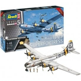Revell 1:48 B-29 Super Fortress Platinum Edition Aircraft Model Kit