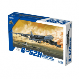 Great Wall Hobby 1:144 B-52H Stratofortress Strategic Bomber Aircraft Model Kit