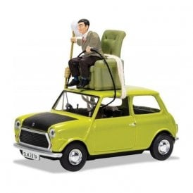 Corgi 1:36 Mr Bean's Mini - 'Do-It-Yourself Mr. Bean' Model Car