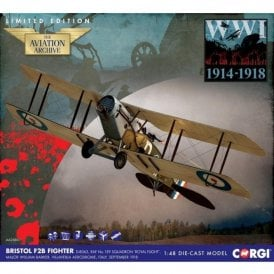 Corgi 1:48 Bristol F2B Fighter D-8063, RAF No.139 Squadron, Villaverla, Italy, Sept 1918 (New Tooling)