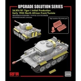 Rye Field Model 1:35 Upgrade Etch Parts Set For RM5050 Tiger I Initial Production Military Model Kit