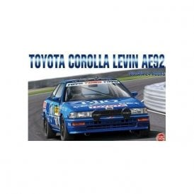 NUNU 1:24 Toyota Corolla Levin AE92 '89 SPA 24H ' Car Model Kit