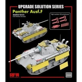 Rye Field Model 1:35 Upgrade Etch Parts Set For RM5045 Panther Ausf.F Military Model Kit