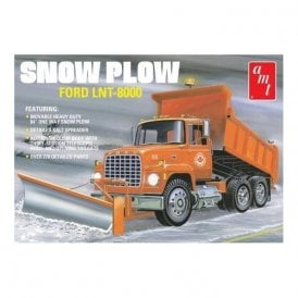 AMT 1:25 Ford LNT-8000 Snow Plow Truck Kit