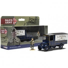 Corgi 1:50 Dads Army TV Series - J. Jones Thornycroft van and Mr Jones Figure Model Car