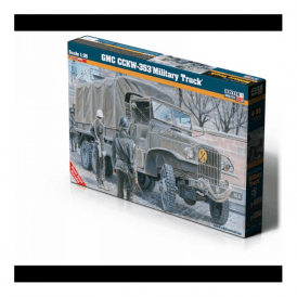 Mistercraft 1:35 GMC CCKW-353 Military Truck Model Kit
