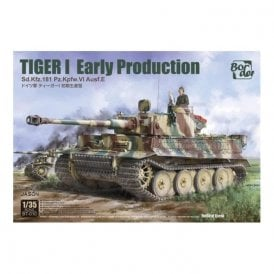 Border Models 1:35 TIGER I Early Production Sd.Kfz.181 Military Model Kit
