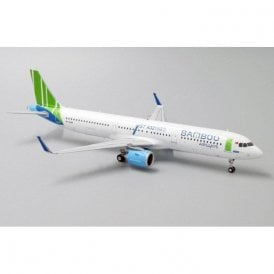 "JC Wings 1:200 Airbus A321neo Bamboo Airways ""1st A321NEO"" - Reg VN-A588"