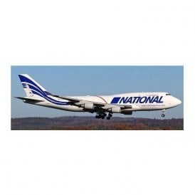 JC Wings 1:400 Boeing 747-400BCF National Airlines Reg - N756CA (With Antenna)