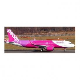 JC Wings 1:200 Airbus A320neo Peach Aviation - Reg JA201P