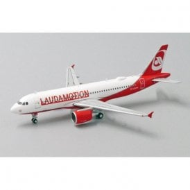 JC Wings 1:400 Airbus A320 LaudaMotion - Reg OE-LOE (With Antenna)