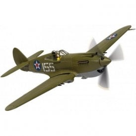 Corgi 1:72 P-40 Warhawk 2nd Lieutenant Kenneth Taylor, US Army Air Corps' 47th Pursuit Sqn, Wheeler Field, April 1941  ' Pearl Harbor 80th Anniversary '