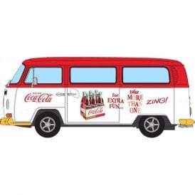Corgi 1:43 Coca Cola VW Camper - Zing Model Car