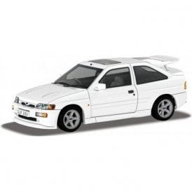 Corgi Vanguards 1:43 Ford Escort RS Cosworth - Diamond White Model Car (New Tooling)