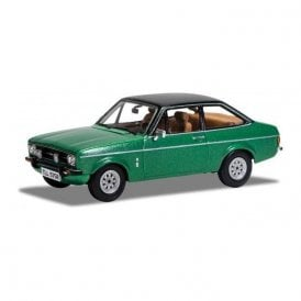 Corgi Vanguards 1:43 Ford Escort Mk2 1.3 Ghia Green Model Car