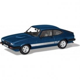 Corgi Vanguards 1:43 Ford Capri Mk3 2 S  Colbalt Blue Model Car