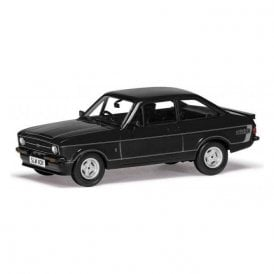 Corgi Vanguards 1:43 Ford Escort Mk2 RS Mexico Black Model Car