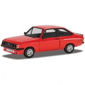 Corgi Vanguards 1:43 RS2000 X Pack, Venetian Red Model Car (New Tooling)