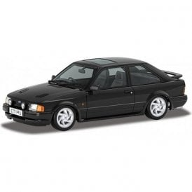 Corgi Vanguards 1:43 Ford Escort Mk4 RS Turbo Black Model Car (New Tooling)