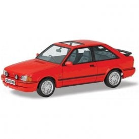 Corgi Vanguards 1:43 Ford Escort Mk4 XR3i 90 Spec Radiant Red Model Car