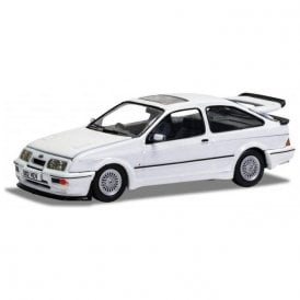 Corgi Vanguards 1:43 Ford Sierra RS500 Cosworth Diamond White Model Car