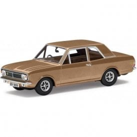 Corgi Vanguards 1:43 Ford Lotus Cortina Mk2 Amber Gold Colin Chapmans Model Car