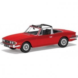 Corgi Vanguards 1:43 Triumph Stag Mk2 Signal Red Model Car