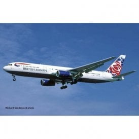 "Revell 1:144 Boeing 767-300ER ""British Airways"" (Chelsea Rose) Aircraft Model Kit"