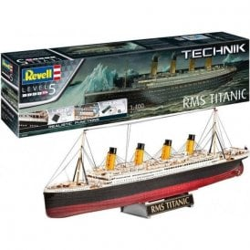 Revell Technik 1:400 RMS Titanic With Lights & Sounds Model Ship Kit