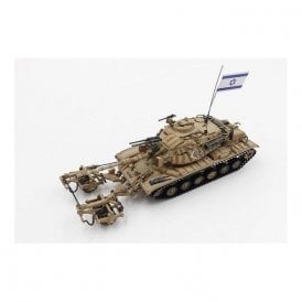Precision Model Art 1:72 IDF M60A1 Blazer with KMT-4 Mine Roller Mid East Wars