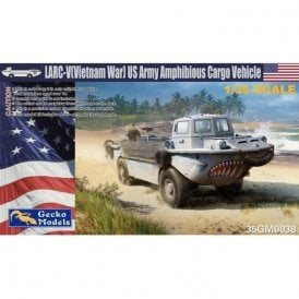 Gecko Models 1:35 US Army amphibious cargo vehicle (Vietnam War version) Truck Military Model Kit