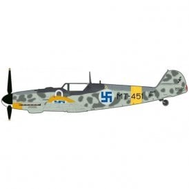 "Hobby Master 1:48 BF 109G-6 ""Juutilainen"" ""White 0""/MT-451, 1/LeLv34, Finnish Air Force, June 1944"