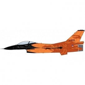 "Hobby Master 1:72 F-16AM ""Orange Lion"" J-015, RNLAF, ""Solo Display 2009-2013"""