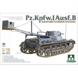 Takom 1:16 Pz.Kpfw.I Ausf.B with drop device Model Military Kit