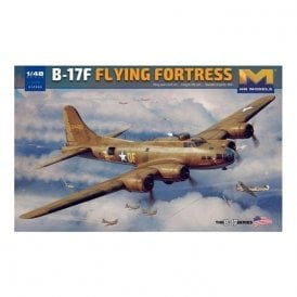 Hong Kong Models 1:48 B-17G Flying Fortress Early Production Aircraft Model Kit