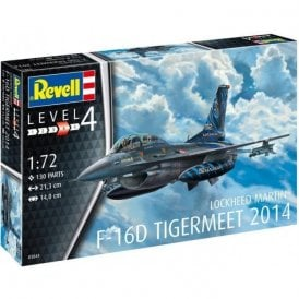 Revell 1:72 F-16D Fighting Falcon (NEW PARTS) Aircraft Model Kit