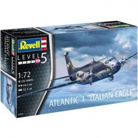 "Revell 1:72 Breguet Atlantic 1 ""Italian Eagle"" Aircraft Model Kit"