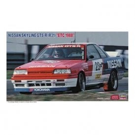 Hasegawa 1:24 Nissan Skyline GTS-R (R31) ETC 1988 Car Model Kit